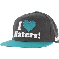 DGK HAT CAP - CHARCOAL TEAL - SNAPBACK ADJUSTABLE