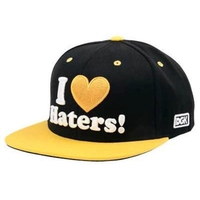 DGK HAT CAP - PITTSBURGH BLACK YELLOW - SNAPBACK ADJUSTABLE