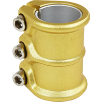 DISTRICT HT SERIES TRIPLE CLAMP - OVERSIZED AND STANDARD - AARUM GOLD