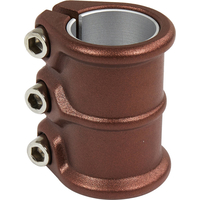 DISTRICT HT SERIES TRIPLE CLAMP - OVERSIZED AND STANDARD - COINE COPPER