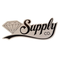 DIAMOND SUPPLY CO SKATEBOARD STICKER - SCRIPT BLACK X 1