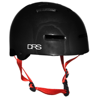 DRS SKATE SCOOTER BMX HELMET - BLACK GLOSS - L/XL - APPROVED ADJUSTABLE