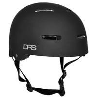 DRS SKATE SCOOTER BMX HELMET - FLAT BLACK - L/XL - APPROVED ADJUSTABLE