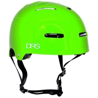 DRS SKATE SCOOTER BMX HELMET - GREEN - L/XL - APPROVED ADJUSTABLE