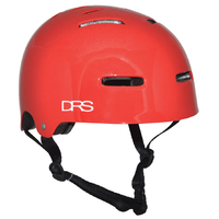 DRS SKATE SCOOTER BMX HELMET - RED - L/XL - APPROVED ADJUSTABLE