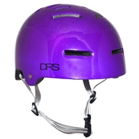 DRS SKATE SCOOTER BMX HELMET - PURPLE- S/M - APPROVED ADJUSTABLE
