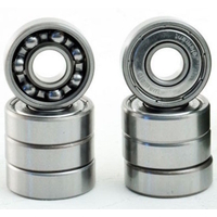 ELEMENT THRIFT WOOD SKATEBOARD BEARINGS - SILVER