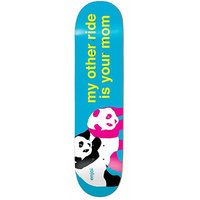 ENJOI SKATEBOARD DECK - MY OTHER RIDE IS YOUR MOM - 8.0