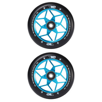 ENVY DIAMOND 110MM SCOOTER WHEELS SET OF 2 - TEAL