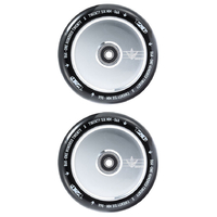 ENVY 120MM HOLLOW CORE SCOOTER WHEELS SET OF 2 - POLISHED