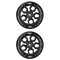 ENVY 120MM LAMBO SCOOTER WHEELS SET OF 2 - BLACK