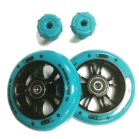 ENVY ONE COLOUR PACK - TEAL - 100MM WHEELS AND BAR ENDS