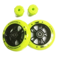 ENVY ONE COLOUR PACK - YELLOW - 100MM WHEELS AND BAR ENDS