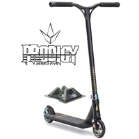 ENVY PRODIGY S5 2017 COMPLETE SCOOTER - BLACK OIL SLICK NEOCHROME + BONUSES