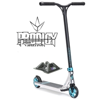 ENVY PRODIGY S5 2017 COMPLETE SCOOTER - POLISHED - BONUS STAND + STICKER PACK