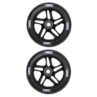 ENVY 120MM SCOOTER WHEELS SET OF 2 - BLACK BLACK