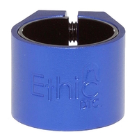 ETHIC SCOOTER DOUBLE CLAMP - BLUE