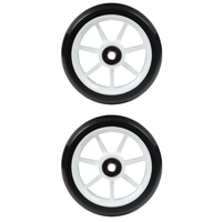 ETHIC SCOOTER WHEELS SET OF 2 WITH BEARINGS - INCUBE - WHITE - 110MM