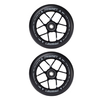 FASEN SCOOTER WHEELS PAIR - 110MM - JET - BLACK