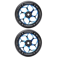 FASEN 120MM SCOOTER WHEELS SET OF 2 - BURNT PIPE