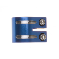 FLAVOR SCOOTER DOUBLE CLAMP - BLUE