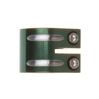 FLAVOR SCOOTER DOUBLE CLAMP - GREEN