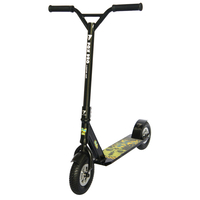 FOX COMPLETE DIRT ALL TERRAIN SCOOTER - BLACK