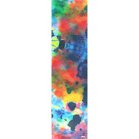 "GLOBE SKATEBOARD GRIP TAPE SHEET - 11"" x 42"" - COLOR BOMB"