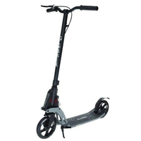 GLOBBER KLEEFER MY TOO K180 ADULT SCOOTER - BLACK - WITH HAND BRAKE