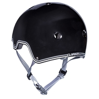 GLOBBER SKATE SCOOTER BMX HELMET - BLACK - MEDIUM - APPROVED