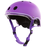 GLOBBER SKATE SCOOTER BMX HELMET - PURPLE - MEDIUM - APPROVED