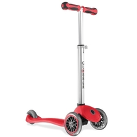 GLOBBER KIDS MINI KICK SCOOTER 3 WHEEL - RED - MY FREE UP MODEL