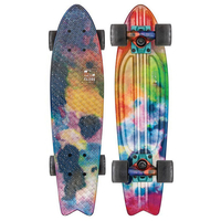 GLOBE CRUISER SKATEBOARD COMPLETE - GRAPHIC BANTAM COLOR BOMB