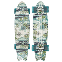 GLOBE CRUISER SKATEBOARD COMPLETE - GRAPHIC BANTAM JIVE BLUE