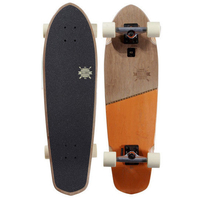GLOBE CRUISER SKATEBOARD COMPLETE - BIG BLAZER BROWN ORANGE