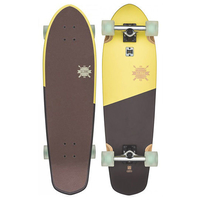 GLOBE CRUISER SKATEBOARD COMPLETE - BIG BLAZER LEMON