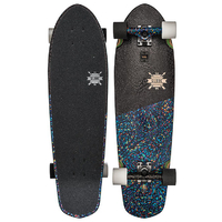 GLOBE CRUISER SKATEBOARD COMPLETE - BIG BLAZER RAINBOW SERPENT