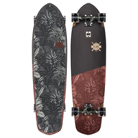 GLOBE CRUISER SKATEBOARD COMPLETE - BLAZER XL BLACK / RED FORESTER