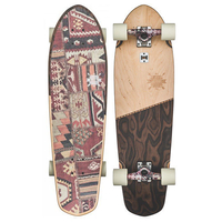 GLOBE CRUISER SKATEBOARD COMPLETE - BIG BLAZER NATURAL BURLE