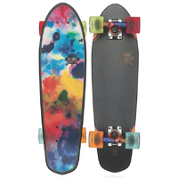 GLOBE CRUISER SKATEBOARD COMPLETE - BLAZER BLACK COLOR BOMB