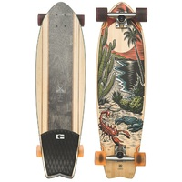 GLOBE CRUISER SKATEBOARD COMPLETE - CHROMANTIC DESERT TROPIC