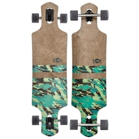 GLOBE LONGBOARD SKATEBOARD COMPLETE - GEMINON DARK MAPLE WATERSHED - RRP $330