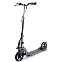 GLOBBER KLEEFER 1 SECOND FOLD ADULT SCOOTER - BLACK - WITH HAND BRAKE