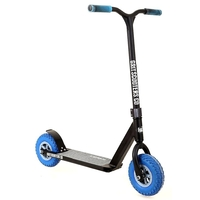 GRIT DIRT FLUXX COMPLETE SCOOTER - BLACK BLUE - 2017 MODEL