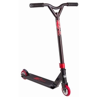 GRIT EXTREMIST COMPLETE SCOOTER MY16/17 - BLACK / RED - BONUS SCOOTER STAND
