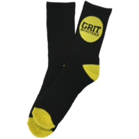 GRIT SCOOTERS SOCKS - BLACK / YELLOW