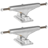 INDEPENDENT SKATEBOARD TRUCKS STAGE 11 SILVER LOW 129 - SET OF 2 TRUCKS