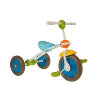 "ITALTRIKE COMPLETE - 10"" ABC TRICYCLE"