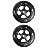 LUCKY ATOM 110MM SCOOTER WHEEL SET - BLACK
