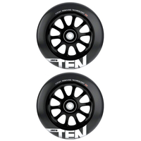 LUCKY TEN 120MM SCOOTER WHEEL SET - BLACK BLACK
